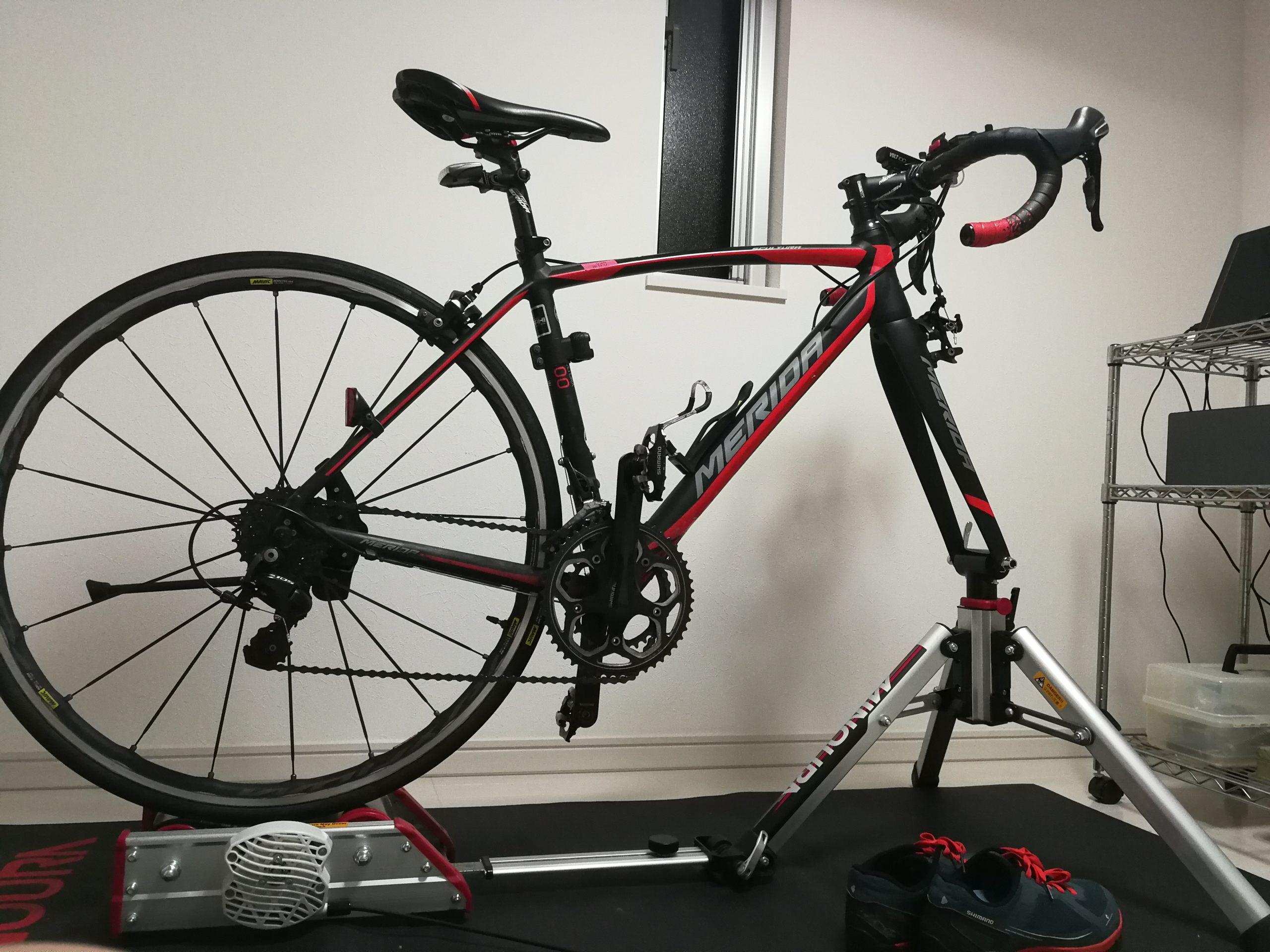 盗まれたロードバイク 。MERIDA Scultura 400